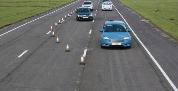 Desperate bid to bring driverless cars to the UK – tests underway for autonomous tech