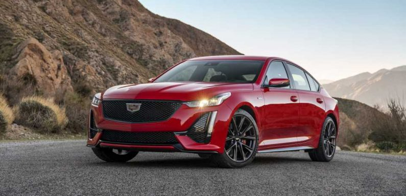 2022 Cadillac CT4-V, CT5-V Blackwing Powertrain Options Leak From Dealers: Report