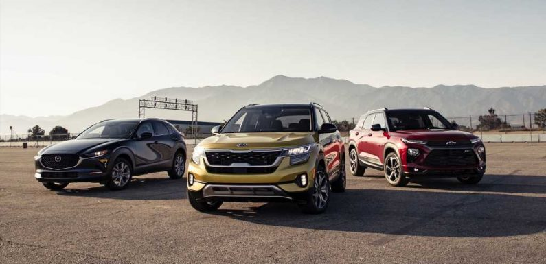 2021 Chevy Trailblazer vs. Kia Seltos, Mazda CX-30 Comparison Test Review