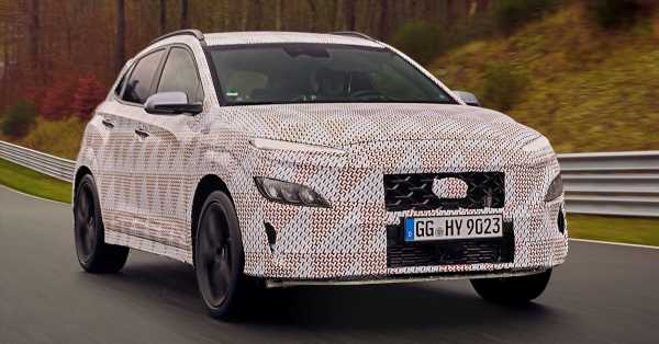 2021 Hyundai Kona N officially teased – hot SUV with 2.0L 4-cyl turbo, 8-speed DCT; 280 PS and 392 Nm? – paultan.org