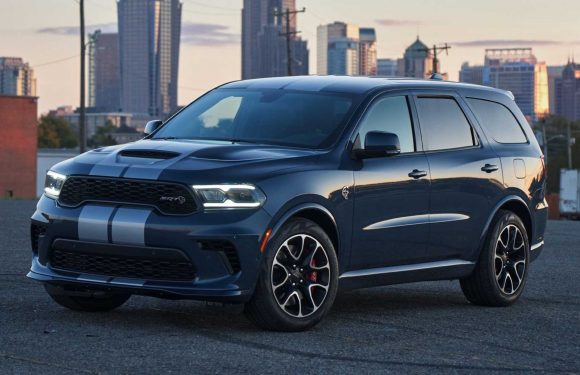 2021 Dodge Durango SRT Hellcat Sold Out, All 2,000 Of Them