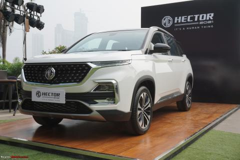 2021 MG Hector Facelift : A Close Look