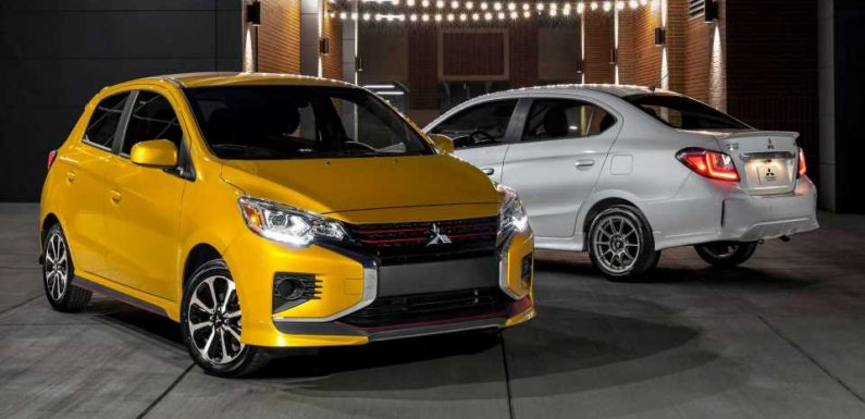 2021 Mitsubishi Mirage Priced From $14,295, Chevy Spark Still Cheaper