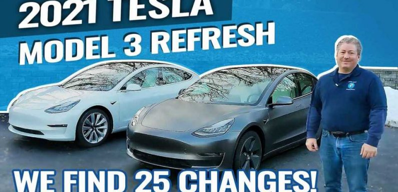 25 Changes That Tesla Made To The Model 3 With The 2021 Refresh