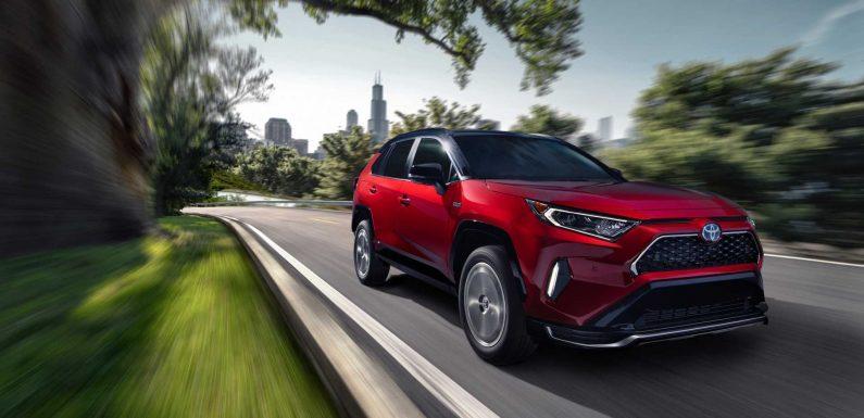 US: In 2020, Toyota Sold 3,200 RAV4 Prime