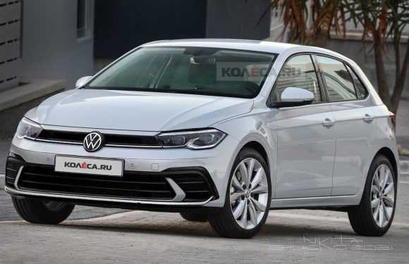 2021 VW Polo Facelift Speculatively Rendered Based On Spy Shots