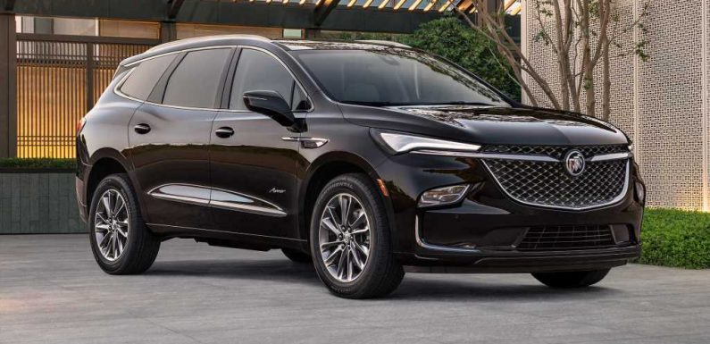 2022 Buick Enclave Three-Row SUV Breaks Cover With Sleek New Look