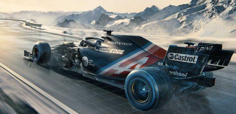 Formula 1: Alpine Reveals Its Pre-Season Testing Livery