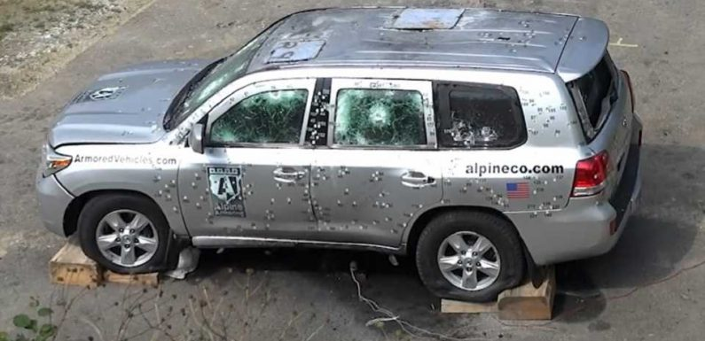 Inside the Bulletproofing Process of Armored Vehicles