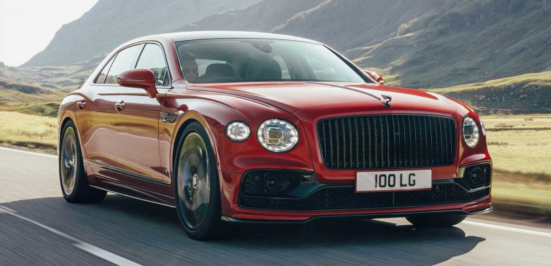 New Bentley Flying Spur V8 2021 review