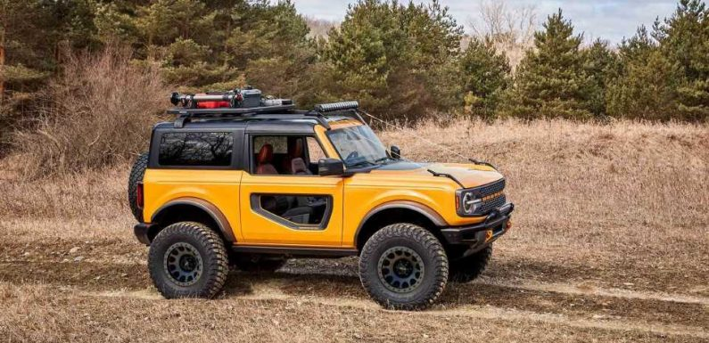 The Official Ford Bronco Accessory List Is Out: New Axle Ratios, Trail Armor, and More