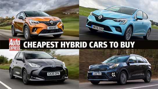 Cheapest hybrid cars 2021