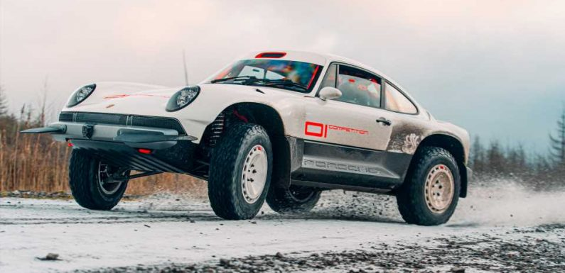 There's Video: Watch Singer's New ACS Safari 911 Play In Some Gravel