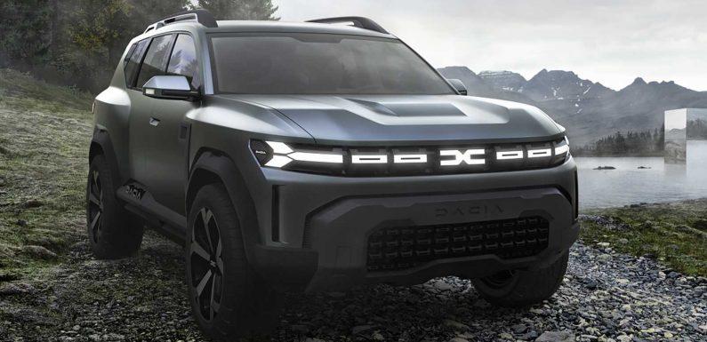 New Dacia Bigster concept previews future SUV