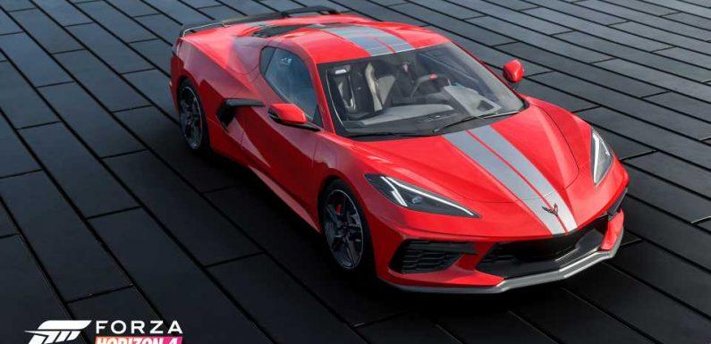 The 2021 Chevrolet Corvette C8 Is Coming to <em></noscript>Forza Horizon 4</em> This Week