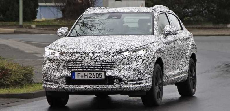New 2021 Honda HR-V crossover spied with bold new look
