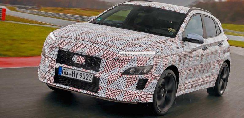Hyundai Confirms Kona N Performance Crossover SUV