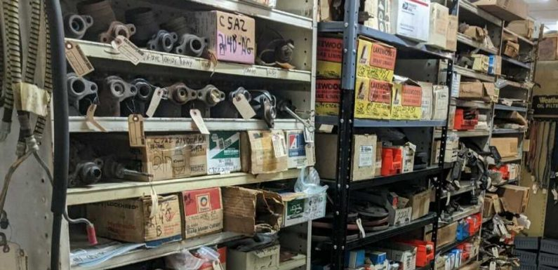 There's a Warehouse Full of $2M in New Old Stock Classic Ford Parts for Sale on eBay
