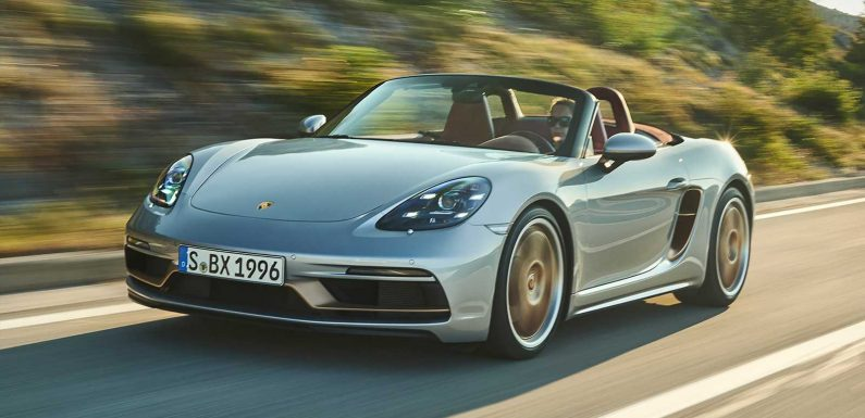 New Porsche Boxster 25 Years celebrates the sports car's birthday