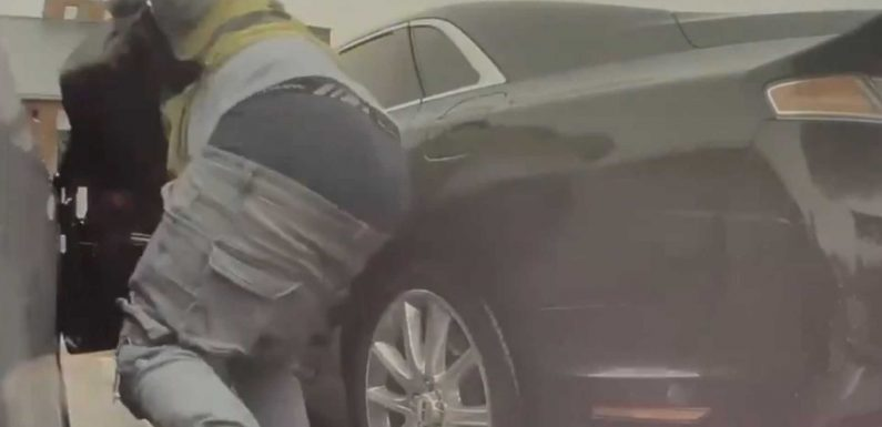 Tesla Sentry Mode Catches Another Glass-Breaking Butt, Now In Houston