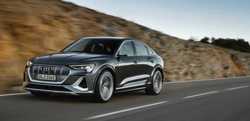 In 2020 Audi Sold Over 47,000 e-tron All-Electric Cars