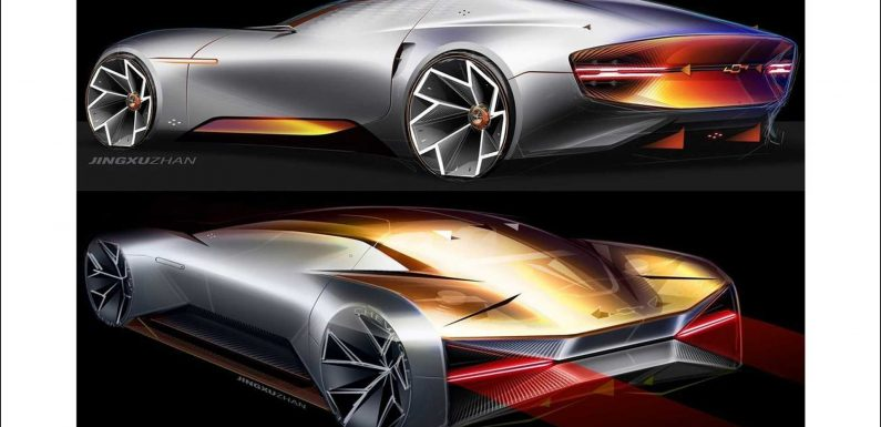 GM Design Sketches Out Sleek Chevrolet Sports Coupe
