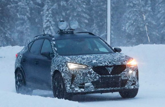 Cupra Formentor Possibly Spied With Inline-Five Audi Power