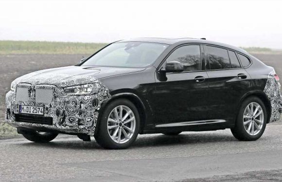 Face Lifted 2022 BMW X4 Spied During Testing