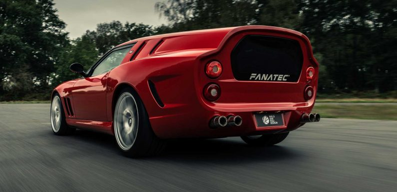 Ferrari Breadvan Hommage Revealed As One-Off Retro Shooting Brake