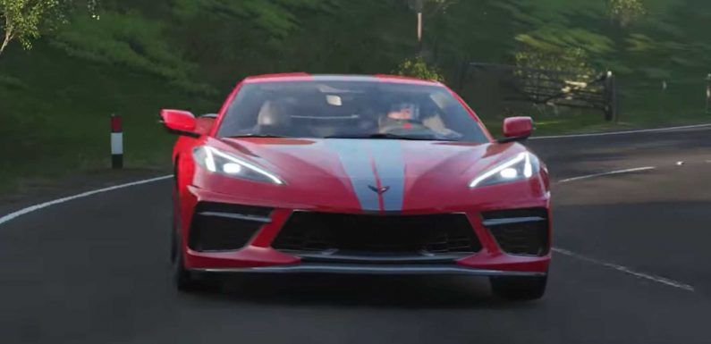 Chevy Corvette C8 Coming To Forza Horizon 4 On January 14