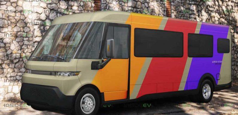 BrightDrop EV600 Van Becomes A Zero-Emissions RV… In PhotoShop