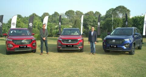 Updated MG Hector Plus launched at Rs. 13.35 lakh