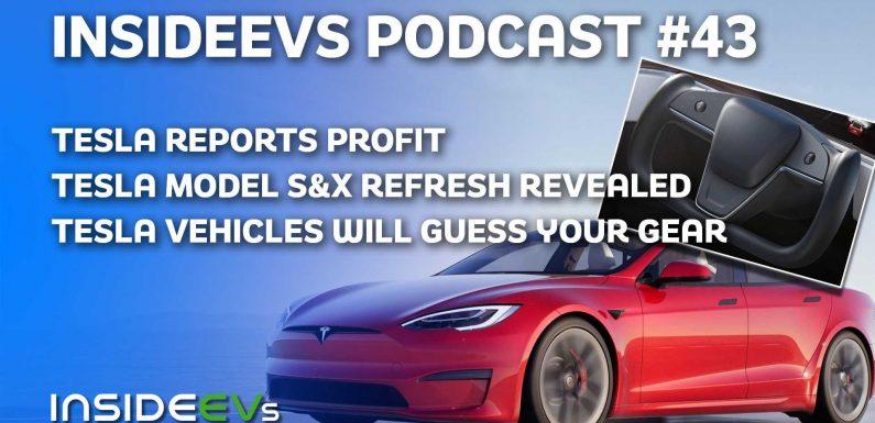 Tesla Reports Profit, Reveals Crazy Clean Refresh And Plaid+