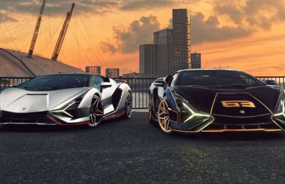 Two Lamborghini Sian Hybrid Supercars Delivered By London Dealer