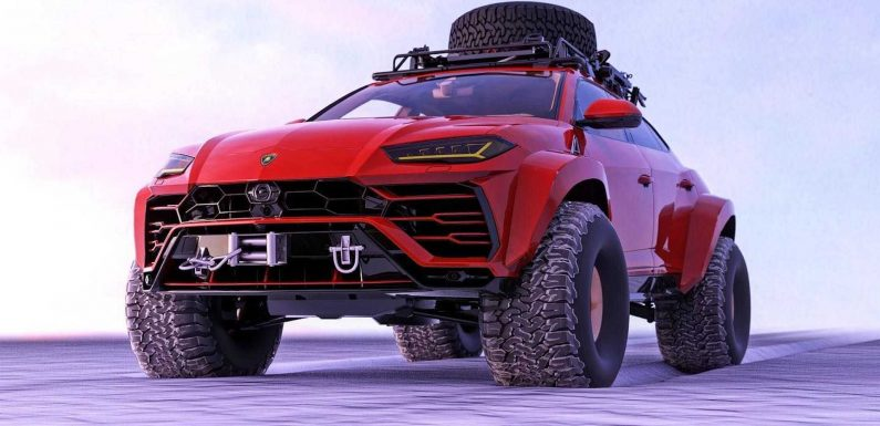 Lamborghini Urus Off-Roader Fictional Rendering Could Be A Great Idea
