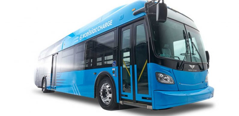 Connecticut Orders Up To 75 New Flyer Electric Buses