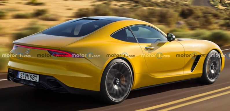 Next-Gen Mercedes-AMG GT Rendered Showing Off Sharper Rear Styling