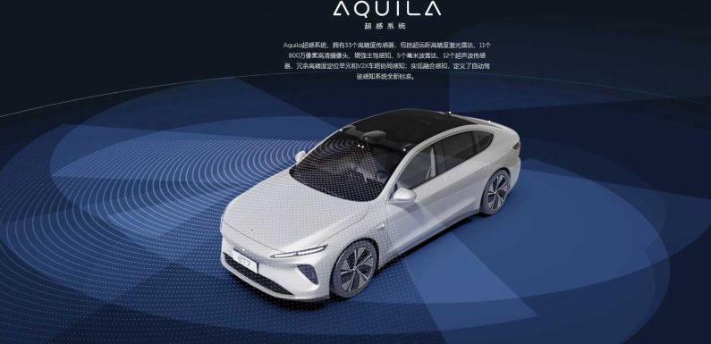 NIO Moves Closer To Fully Autonomous Driving Capability With New ET7 Sedan