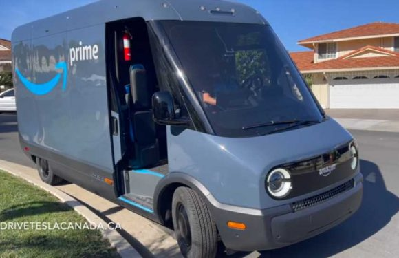 Listen to the Loud, Irritating Noise Made by Amazon's Electric Rivian Delivery Vans