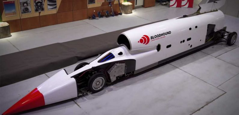 Bloodhound Land Speed Record project goes up for sale again