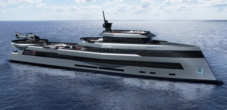 Kyron Design's Nzuri is a 230-Foot Expedition Megayacht