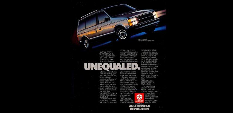 1986 Dodge Caravan Is an American Revolution
