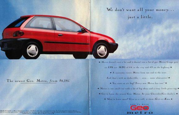 1994 Geo Metro Is Really, Really Cheap