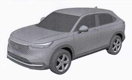 2021 Honda HR-V – 3rd-gen patent drawings emerge – paultan.org