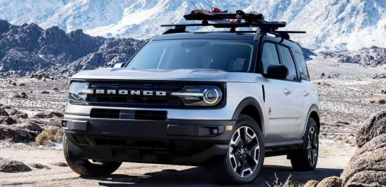 2021 Ford Bronco Sport Gets Five Accessory Bundles For Outdoorsy Folks