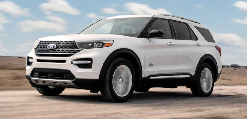 2021 Ford Explorer King Ranch Revealed With Posh Upgrades