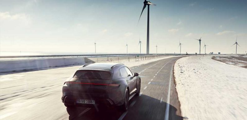 The Porsche Taycan Cross Turismo Logged Enough Miles In Testing to Lap the Equator Nearly 25 Times