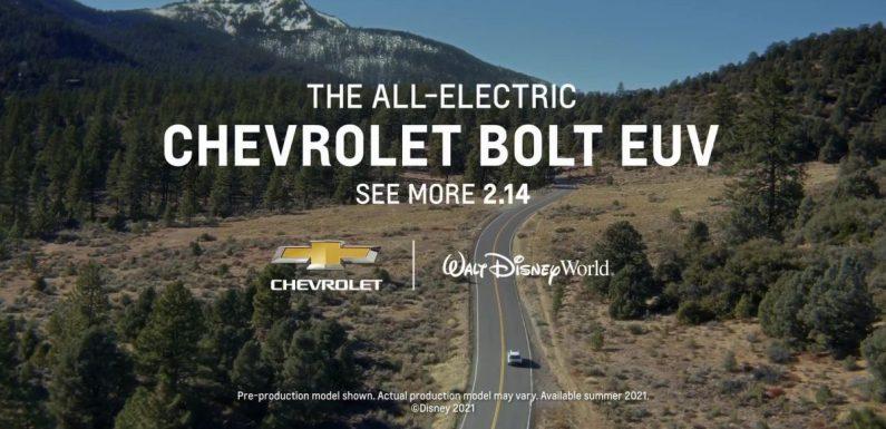 2022 Chevrolet Bolt EUV to make its debut on Feb 14 – paultan.org