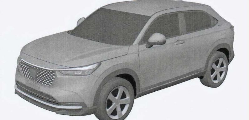 2022 Honda HR-V Global Model Possibly Leaked In Patent Images