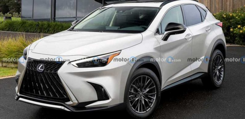Next-Gen Lexus NX Keeps Its Wild Styling In Unofficial Rendering